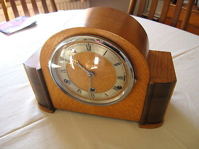 Vintage Westminster Chime 8 Day Mantle Clock, London