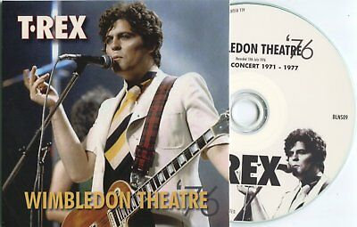 Marc Bolan / T.rex : 'wimbledon 1976' - Easy Action Promo Cd (Part Of Set) New