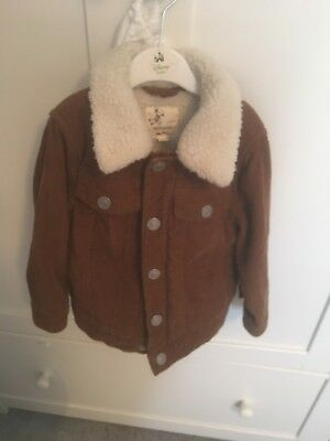 Boys River Island Tan Jacket 18-24months