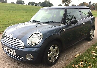 2009 (59) Mini One Clubman 1.4 - Start/Stop, Fogs, Air con, *** NO RESERVE ***