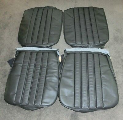 Housse Siège Cuir Mercedes W113 Pagode Seat Covers German Leather 230 250 280 SL