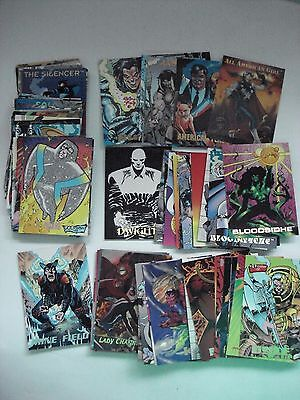 The Creators Universe Complete Set Of 100 Trading Cards Dynamic 1993