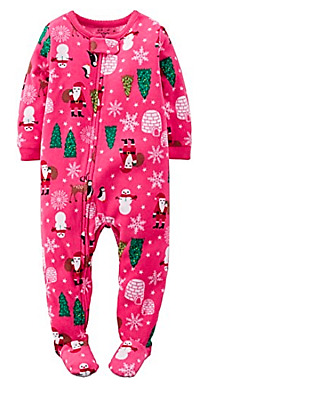 1bdd3883efc8 CARTERS GIRLS PJ 2-Piece Ballerina Cotton   Fleece PJs Size 12 Green ...