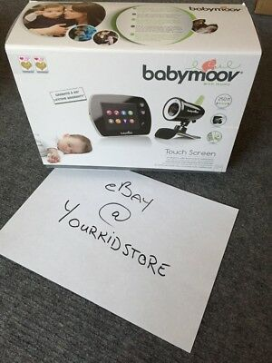 Babymoov Touch Screen Video Baby Monitor. In box. Original chargers and bargain!