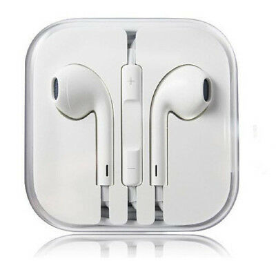 New Headphones Earphones With Remote & Mic For Apple iPhone 6S 6 5 5S 4S Earbuds