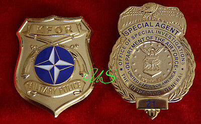 gb/ Historisches badge + Choose KFOR - Military Police  OR AFOSI Special Agent