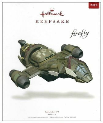 Hallmark 2018 Firefly Serenity Ship Ornament With Light Magic - Free Shipping