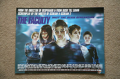 The Faculty               Mini Quad Poster