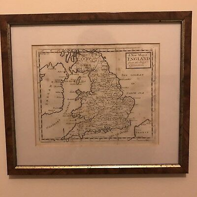England from the latest Observations by Herman Moll circa 1720