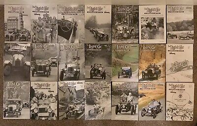 The Light Car Magazine 21 Issues The Light Car & Edwardian Section Mags Joblot