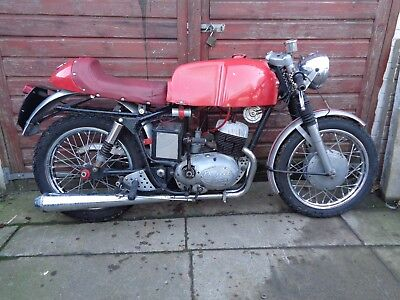 ROYAL ENFIELD TURBO TWIN 250 cc CAFE RACER 1966 D