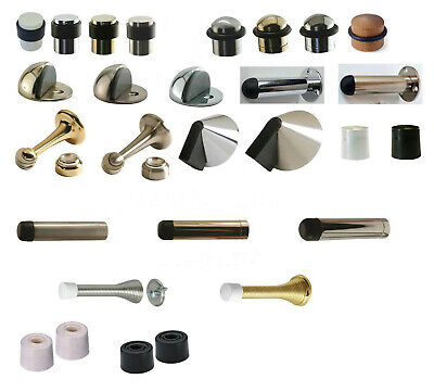 Quality Door Stopper Gold/Silver/Satin/Rubber/Brass/Large/Long/Chrome Doorstop