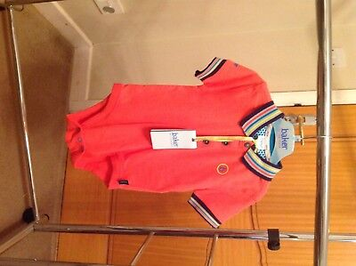 Gorgeous Ted Baker baby boys short sleeved collared vest bodysuit 12-18 months