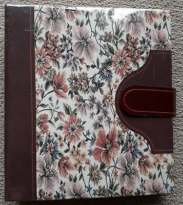 Floral Photo Album - Holds 6x4 photos - Slip In