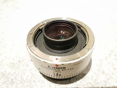 Canon Extender EF1.4x well used