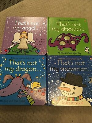 usborne touchy feely books. X 4 Thats Not My ...