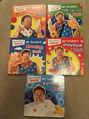 something special. Mr Tumble X 5 Board Books.