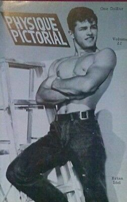 Physique Pictorial Volume 22 gay interest magazine