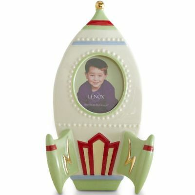 Lenox Rocket Ship Picture Frame Brand New