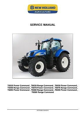 NEW HOLLAND T6020 T6030 T6040 T6050 T6060 T6070 Delta Plus Tractor on