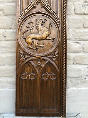 Top Quality Gothic Revival Panel with Dragon/Gargoyle / griffin /Lion nr 3