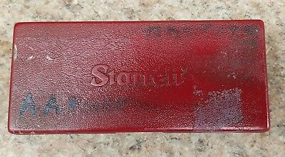 STARRETT CASED  0 -25mm OUTSIDE MICROMETER in good condition