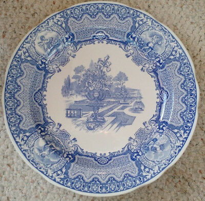 """The Spode Blue Room Collection """"Seasons"""" Dinner Plate"""