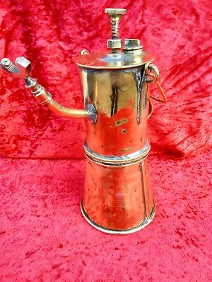 Antique Brass Bray Luta Miners Lamp