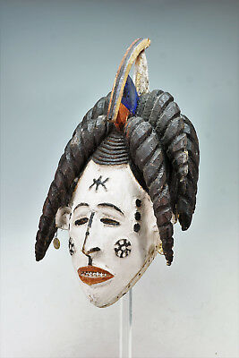 """Igbo """"Beautiful Maiden"""" Mask, collected late 1960s-early 1970s"""