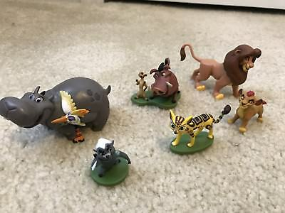 Disney Junior The Lion Guard 6 Piece Action Figure Set