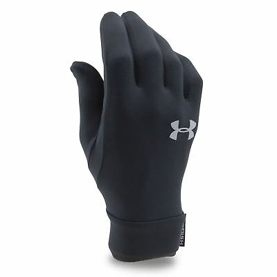 Under Armour Juniors Liner Gloves Winter Run Sports Screen Waterproof Age 6-14