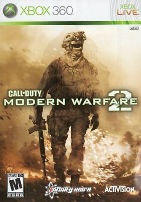 Call of Duty Modern Warfare 2 Xbox 360 ONE Compatible CIB Refurbished Free Ship