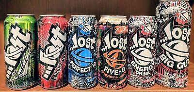 Lost Energy Drink Cans (6)