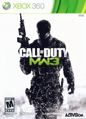 Call of Duty Modern Warfare 3 Xbox 360 One Compatible CIB Refurbished Free Ship