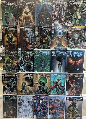 Darkness Comics Huge Lot 25 Comic Book Collection Set Run Books Box 3