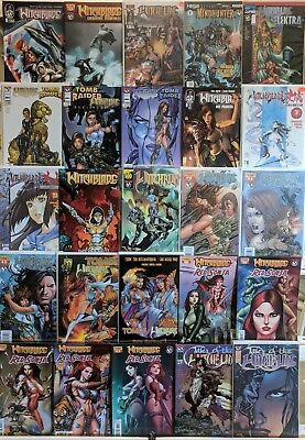 Witchblade Comics Huge Lot 25 Comic Book Collection Set Run Books Box 4