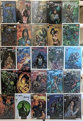 Darkness Comics Huge Lot 25 Comic Book Collection Set Run Books Box 1