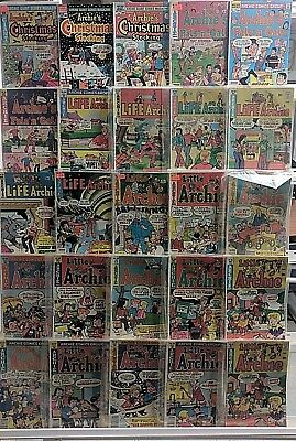 Archie Comics Huge 25 Comic Book Collection Lot Set Run Books Box 7