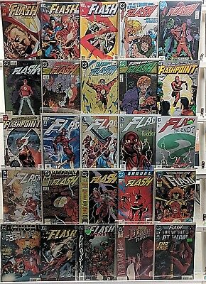Flash Comics Huge 25 Comic Book Lot Collection Set Run Books Box 3