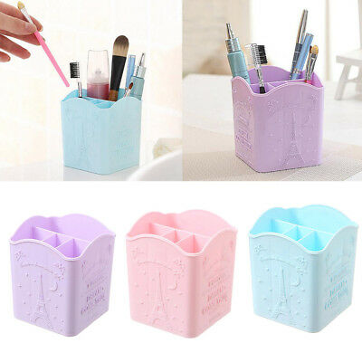 Office Desk Tidy Organiser Pen Makeup Storage Holder Stationery Container Case