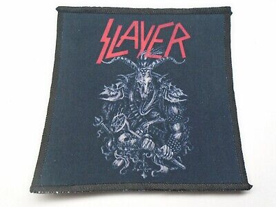 Slayer Thrash Metal Sublimated Patch