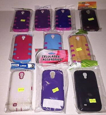 Wholesale Lot Of 10 Cell Phone Cases Samsung Galaxy S4 Phone Case I9500
