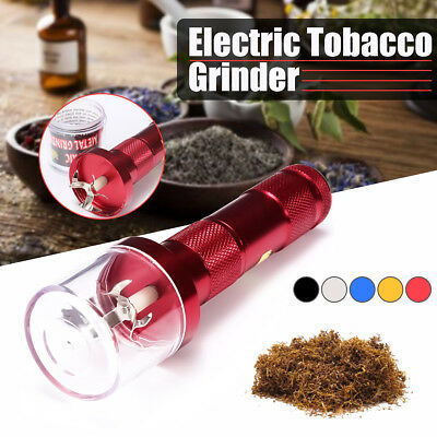 Aluminum Metal Electric Grinder Crusher Herb Spice Herbal Smoke Muller