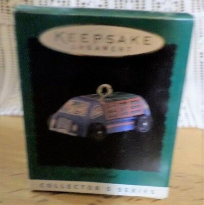 Hallmark 1996 On The Road #4 -  Collector's Series ~Miniature Ornament - NEW