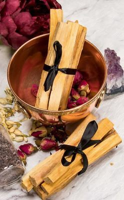 Wicca Pagan Shaman Palo Santo Holy Wood Bundle for Purifying & Cleansing
