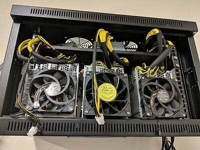 Bitmain Antminer L3+ With Bitmain Power Supply Apw3++ Litecoin Miner !