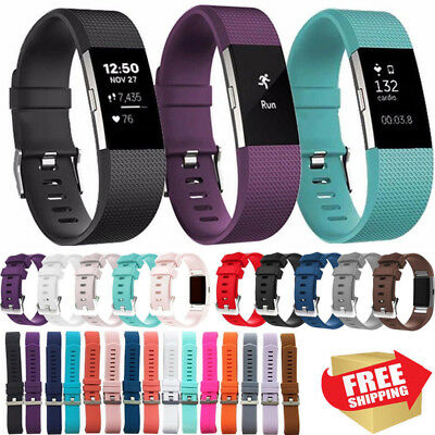 Luxe Replacement Smart Watch Bands Strap Bracelet Wristband For Fitbit Charge 2
