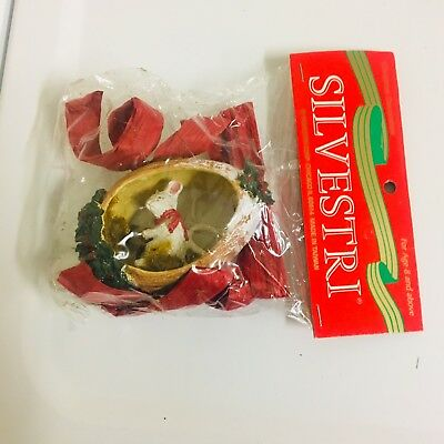 Silvestri Mouse Christmas Ornament