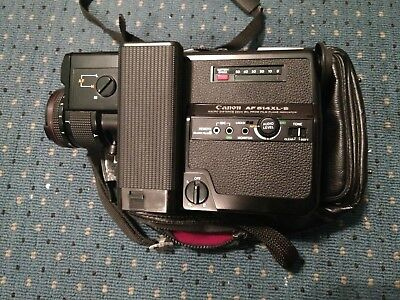 Canon 514XLS-Auto Focus Super 8 Camera #1