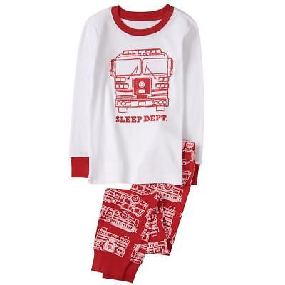NWT Gymboree Boys Gymmies Pajama Firetruck Long Sleeve Set Many Sizes